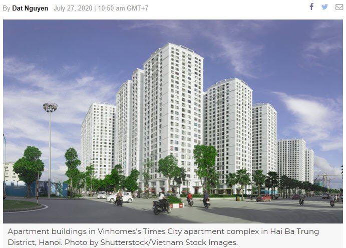 Vinhomes profits up 13 pct in H1